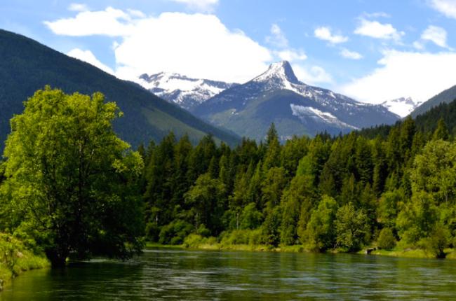 River & Frog Peak