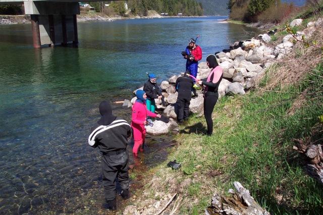 Streamkeepers snorklers
